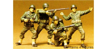 Maquettes : TAMIYA TAM35013 - Infanterie U.S.