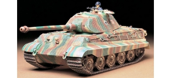 Maquettes : TAMIYA TAM35169 - King Tiger tourelle Porsche