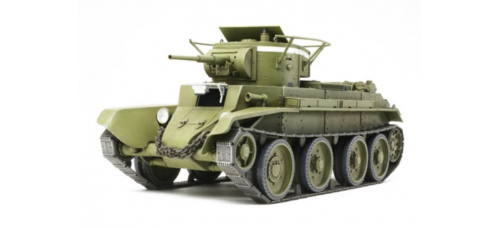 Maquettes : TAMIYA TAM35309 - BT-7 Modèle 1935