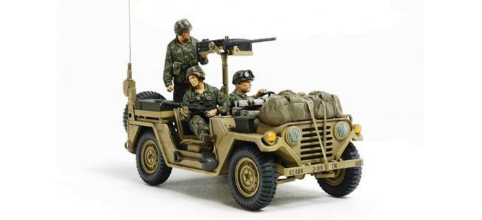 Maquettes : TAMIYA TAM35332 - M151A2 Grenade 1983