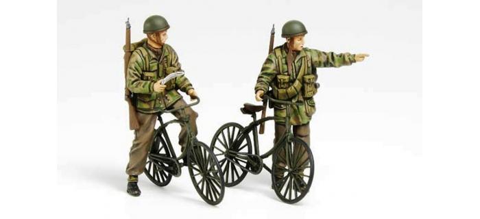 Maquettes : Paras Britanniques et Vélos