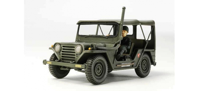 Maquettes : TAMIYA TAM35334 - M151A1 Guerre du Vietnam