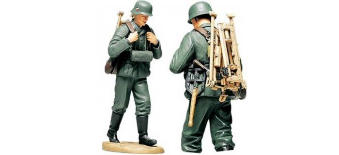 Maquettes : TAMIYA TAM36311 - Servant de mitrailleuse Allemand