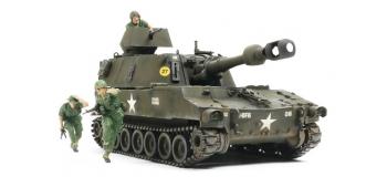 Maquettes : TAMIYA TAM37013 - Obusier US M109 Vietnam