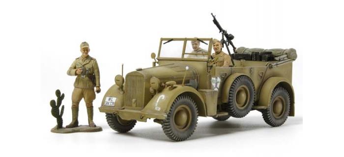 Maquettes : TAMIYA TAM35015 - Horch Kfz.15 Afrique du Nord