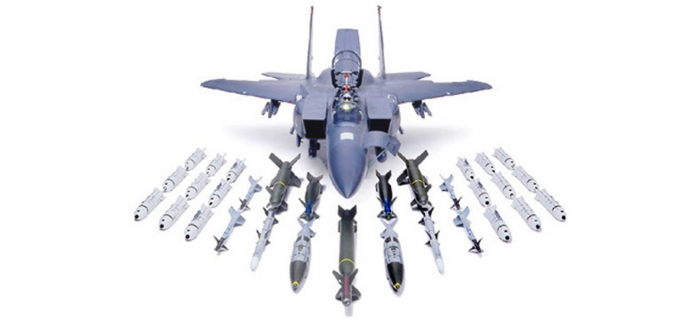 Maquettes : TAMIYA TAM60312 - McDonnel F-15E Eagle