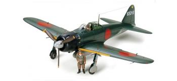 Maquettes : TAMIYA TAM60318 - Avion A6M5 Zero Model 52
