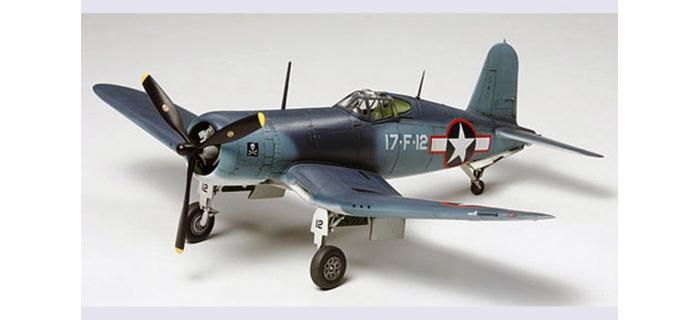 Maquettes : TAMIYA TAM60774 - Avion Corsair F4U-1