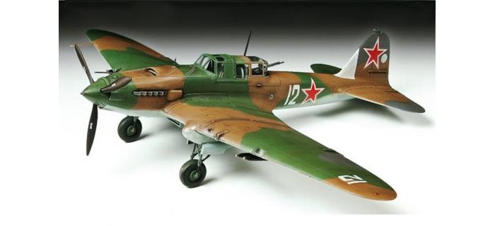 Maquettes : TAMIYA TAM60781 - Avion Iliouchine Il-2 Stourmovik
