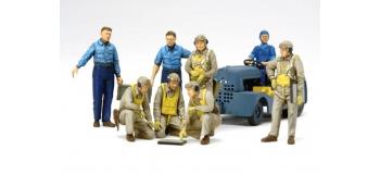 Maquettes : TAMIYA TAM61107 -  Pilotes US NAVY 2ème GM