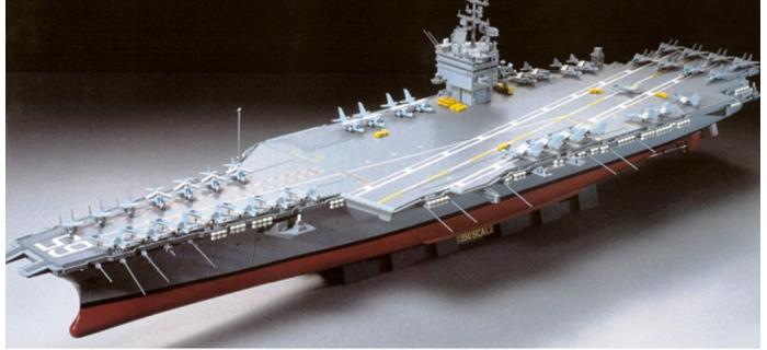 Maquettes : TAMIYA TAM78007 - Porte-avions USS Enterprise