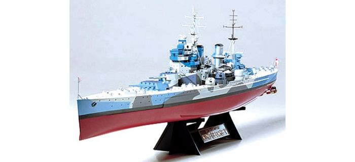 Maquettes : TAMIYA TAM78010 - Cuirassé King George V