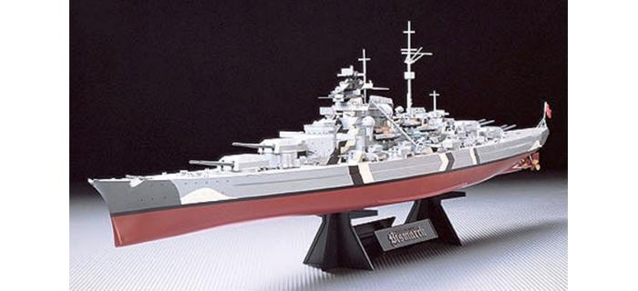 Maquettes : TAMIYA TAM78013 - Cuirassé Bismarck