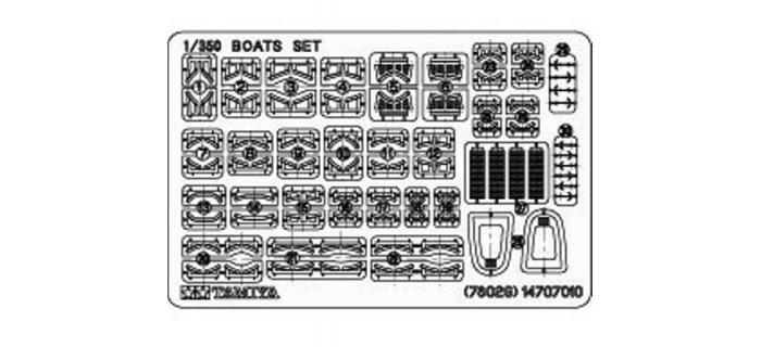 TAMIYA TAM78026 - Bateaux Auxiliaires Japonais