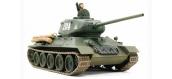 Maquettes : TAMIYA TAM89569 - Char T-34 Type 85