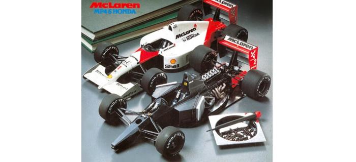 Maquettes : TAMIYA TAM89721 - McLaren MP4/6 Honda
