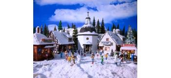 Modélisme ferroviaire : VOLLMER VOLL2413 - village de Noël