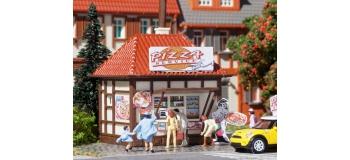 Train électrique : VOLLMER VOLL5593 - Pizza Luigi service et son véhicule